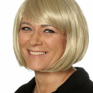 Perücke blond Bob Monikas Haarstudio