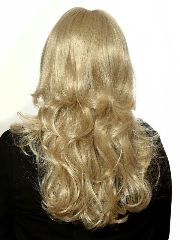 Perücke blond Langhaar Monikas Haarstudio