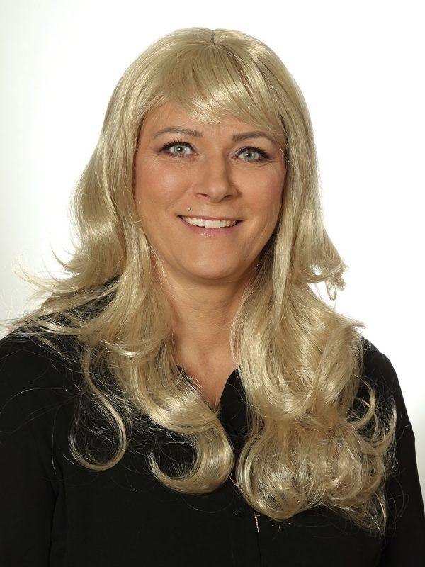 blonde Perücke Langhaar Monikas Haarstudio